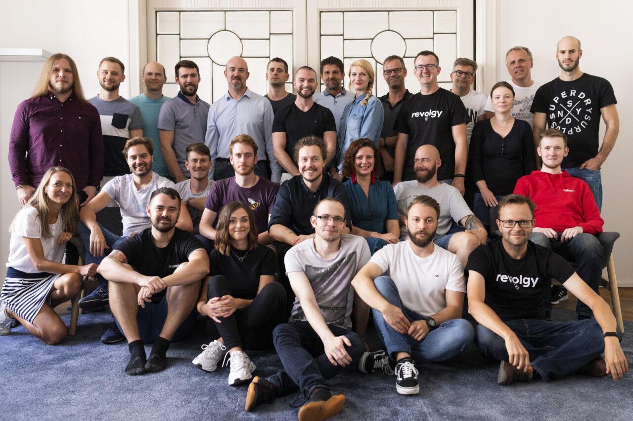 Revolgy Team photo, zdroj: Revolgy