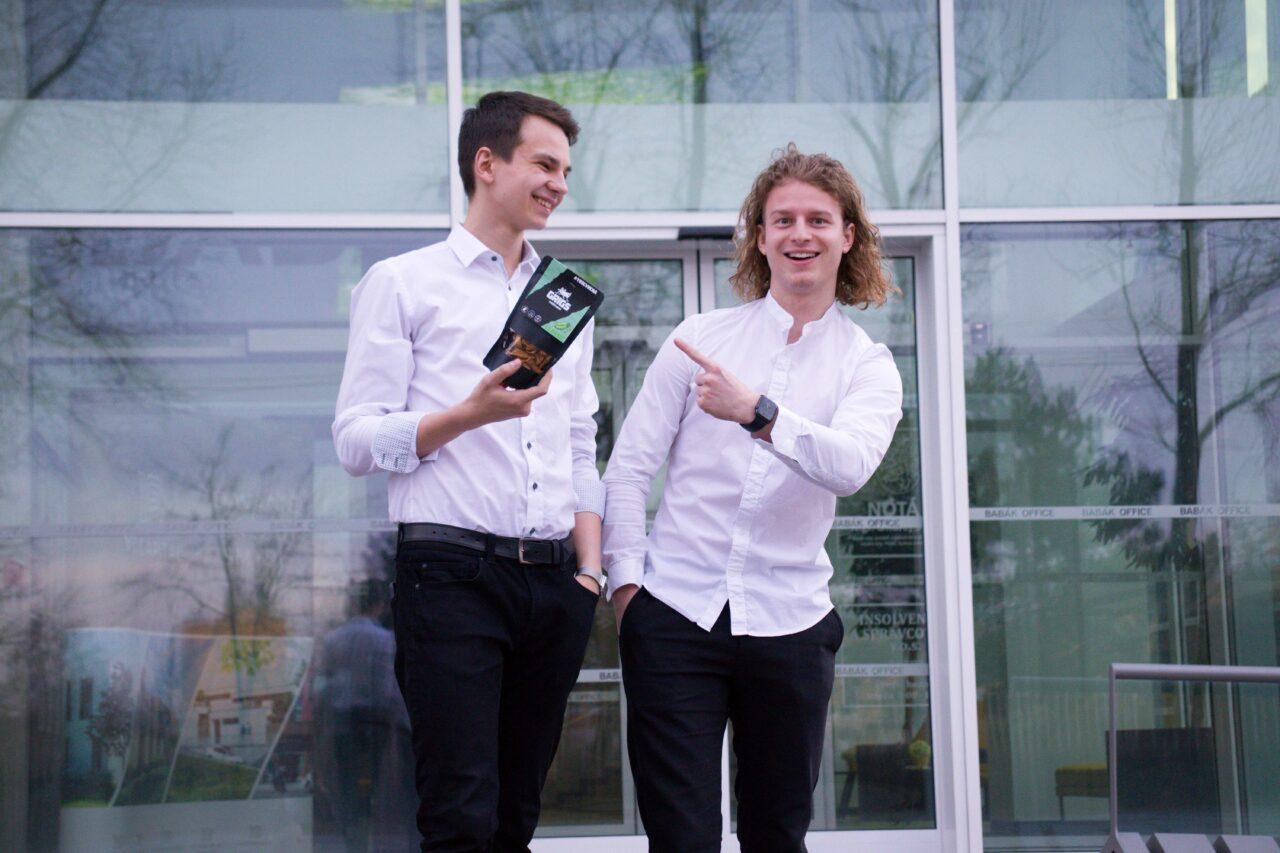 Tomáš Andrlík, Product Manager Grig (vlevo); Adam Dostál, CEO Grig, zdroj: Grig