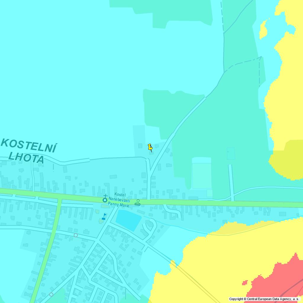 Povodňová mapa, zdroj: NEMO Report