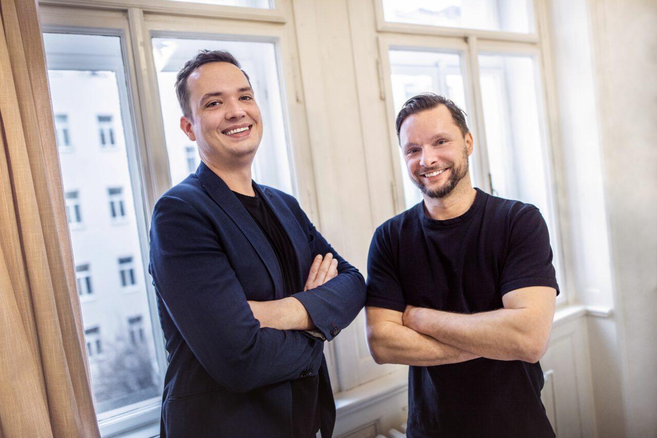 Václav Myšák (vlevo) & Miroslav Vaško