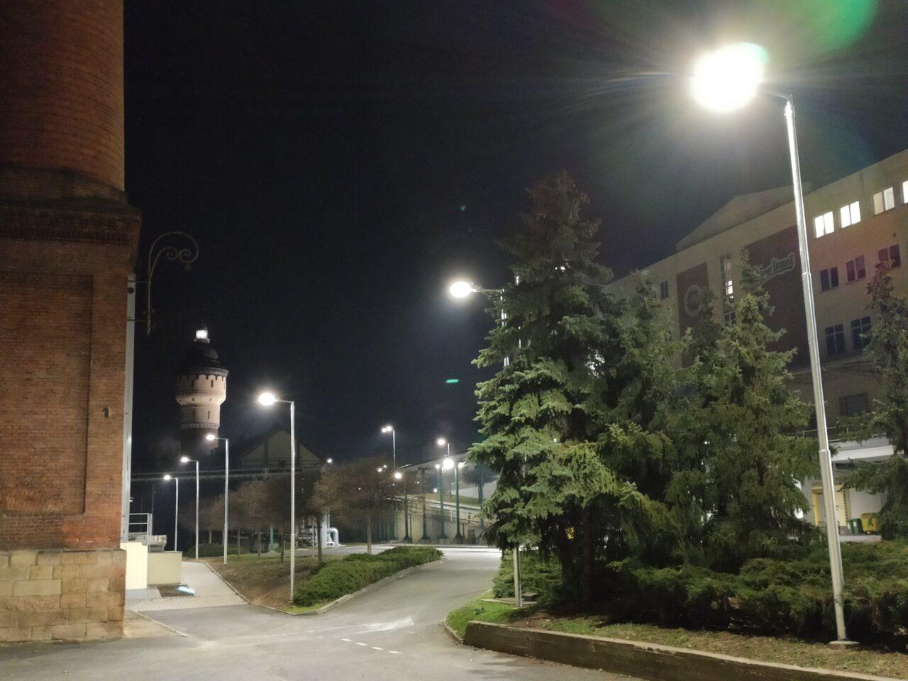Osvětlení areálu, zdroj: ACRIOS Systems