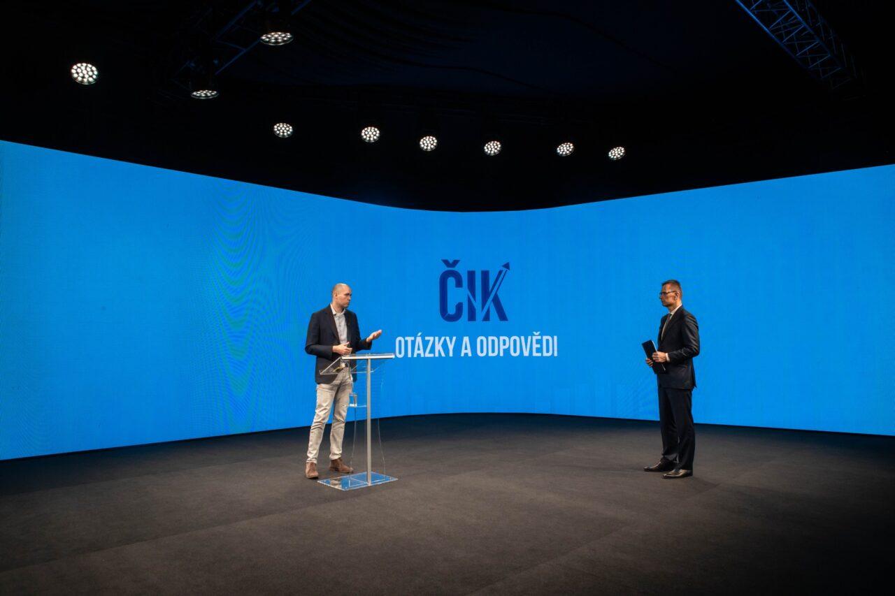 Online Česká investiční konference v roce 2020, zdroj: ČIK